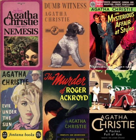 """Give me a decent bottle of poison and I'll construct the perfect crime."" Agatha Christie."